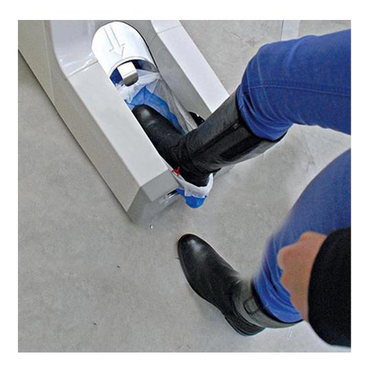 מכשיר לכיסוי נעליים