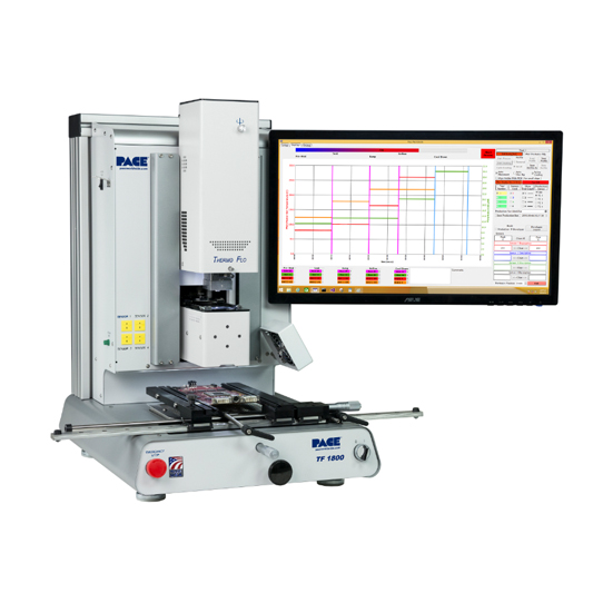 TF 1800 BGA and SMD Rework System