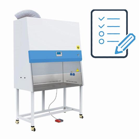 בדיקת חדרים/תאים/אוהלים נקיים, מנדפים ביולוגיים וכימיים ויח' יניקה