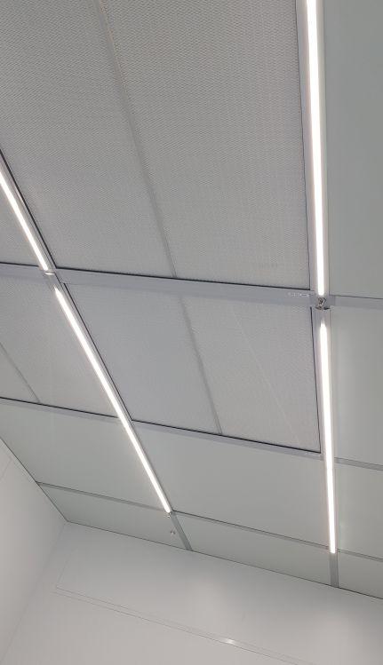 """גוף תאורה לחדר נקי 600 מ""""מ"""