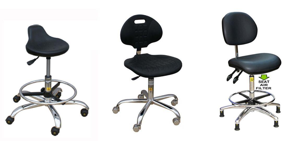 כיסאות ארגונומיים לחדרים נקיים