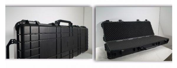 מזוודה מוקשחת לציוד צבאי